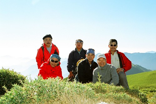 奇萊南峰頂合影