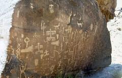 Rock paintings#2 (rhiwbinian) Tags: arizona usa desert navajo canyondechelly
