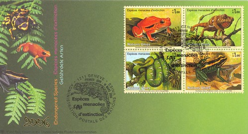 Endangered Species on Stamps
