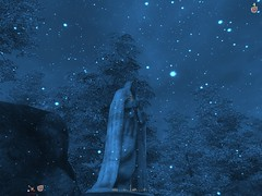 Statue in Snow (sbfisher) Tags: oblivion mods bethesdasoftworks naturalenvironments majorjimsui immersiveinterface