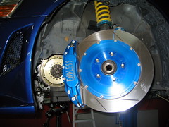 Zeal Coilvers and Endless Brake Kit with ORC (crufty) Tags: orc evo endless zeal oguraracingclutch