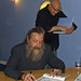 Alan Moore and Chris Staros