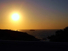 Ikaria 332 & last (isl_gr (Mnesterophonia)) Tags: sun lighthouse ferry mediterranean ikaria icaria  aegean greece goodbye theisland adio adieu    ysplix top20greece