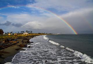 Rainbow(s) Over Point Wilson