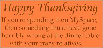 Thanksgiving fake greeting 1