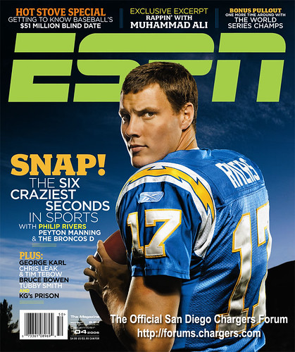 San Diego Chargers Fan Club: Philip Rivers Pics