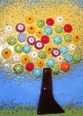a tree (*maya*) Tags: tree glass colors albero murano murrina alberello murrine