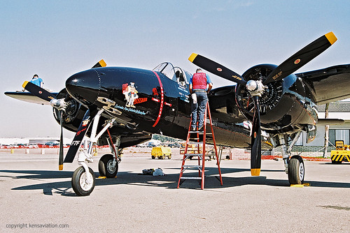 """Warbird picture - Grumman F7F Tigercat """"Big Bossman"""""""