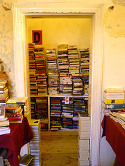Bikini Bookshop (mallix) Tags: door old wall vintage southafrica books capetown calm literature read study frame 1970 worldcup peel secondhand bookshop information trade 2010 relic 1960 harcover gordonsbay softcover bikinibeach soccerworldcup worldcup2010 fifa2010