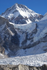 Khumbu Icefall, Lho La and Changtse (Andreas' Photos) Tags: nepal khumbu everestbasecamp khumbuicefall changtse lhola