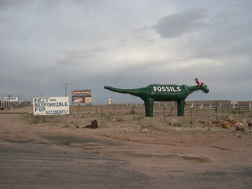 Route 66 folk art