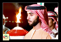 Al Etihad Flame (mohammed al marzouqi) Tags: rain day bin emirates flame national zayed sultan etihad hazaa