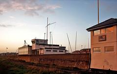 Lytham NSRI And Yacht Club (mliebenberg) Tags: landscapes northwest sunsets lancashire lytham autumnsunsets markliebenberg markliebenbergphotography