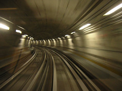 Speed tunnel (Vulk.an) Tags: speed torino interestingness interesting metro tunnel explore turin vitesse savevulkan