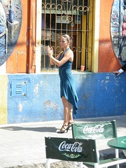 tanguera (met.e.o.r.a) Tags: street blue people woman man sexy argentina colors yellow la dance high shoes legs florida buenos aires poor hell arts picture dancer sensual tango childrens boca caminito ninos defensa povredad