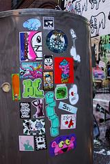 Unhappy Childhood (Question Josh? - SB/DSK) Tags: streetart newyork cat mono pig paint air stickers atp josh drip nerds abandon goopymart atv sev melove fetch pinkpanther foob kinglouis snub catv zoltron 9111 91111 lordleigh bytedust 14bolt bloopa melvind jshine billikidbrand abandonview hype2006