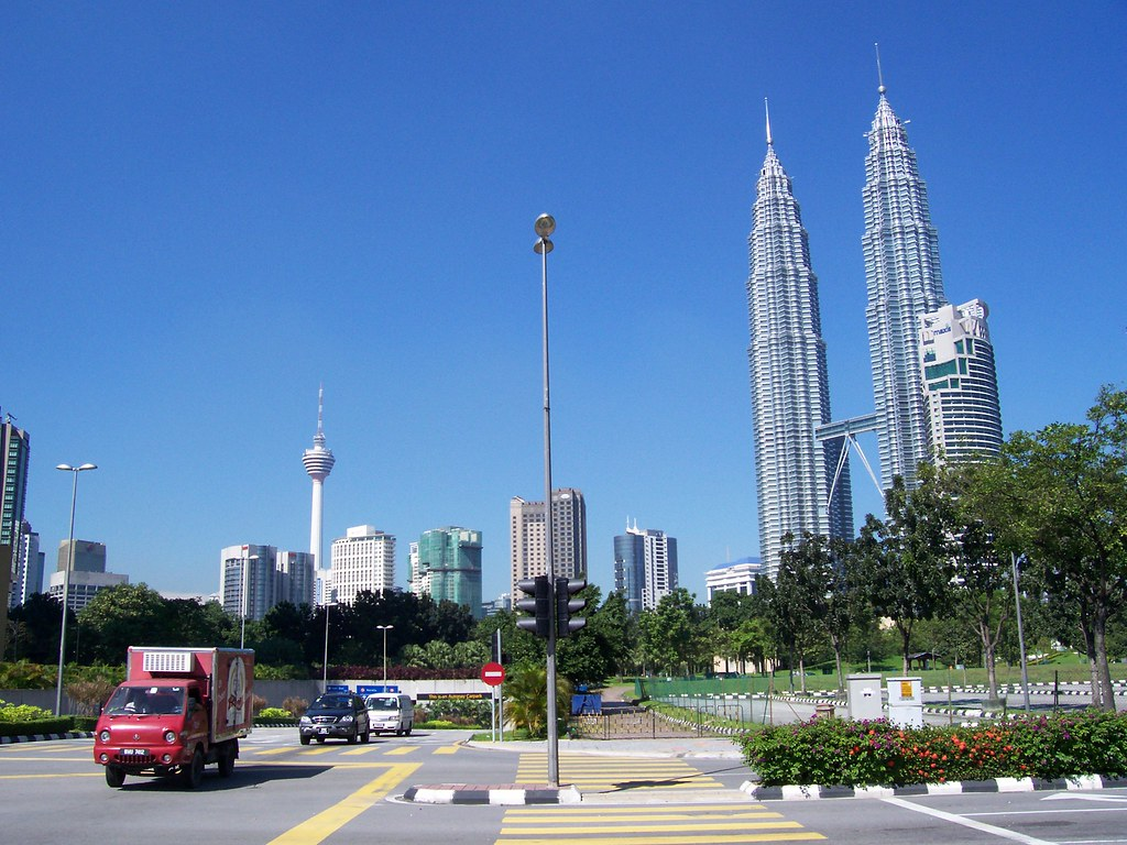 KL Tower and Petronas Twin Tower Kualalumpur