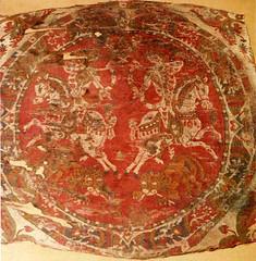 CESRAS image KMA711-4 (CESRAS) Tags: persia ukraine textiles kiev coptic sassanian lateantiquity sassanid cesras