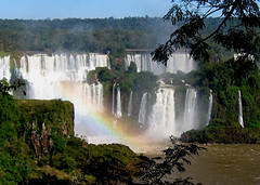 Walls of water falls (Walt K) Tags: brazil argentina brasil rainbow falls waterfalls cataratas iguazu iguacu iguassu thesource supershot waltk abigfave