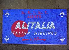 Alitalia Mosaic (newformula) Tags: venice italy europe mosaic venezia alitalia veneto