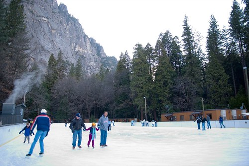 Curry  Village Ice Rink Slated to Open this Friday November 20th