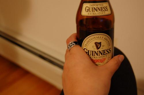 January 22, 2007 - My Guinness-drinkin'  ring
