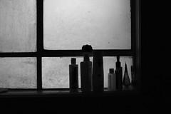 Morning after (Pulpolux !!!) Tags: morning bw window bathroom early shampoo frame cosmetics translucid