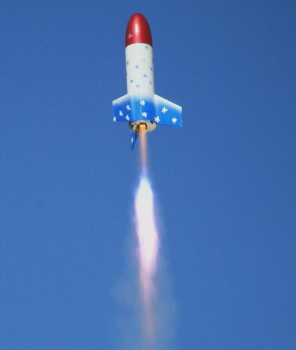 desert nevada rocket xprs blackrock blastoff bigtoys hpr xprs2006