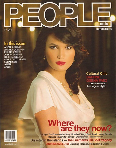 Cover, People Asia, Oct 2006