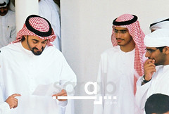 Sheikh Moh'd Bin Zayed with Met7adY (saraab) Tags: dubai united uae emirates mohammed arab hashim unitedarabemirates mohamed saraab nikonf80 saraabcom alhashemi binzayed     sheikhmohammedbinzayed alnahyaan met7ady
