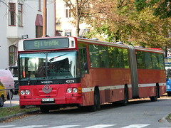Stockholm Volvo Bus (So Cal Metro) Tags: bus volvo coach metro sweden stockholm transit scandinavia artic articulated articulatedbus