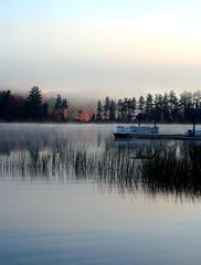 Lifting fog - by Lida Rose