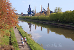 060502 BC 061113 © Théthi (thethi: pls read my first comment, tks) Tags: clabecq tubize forges sidérurgie industrie canal frichesindustrielles wallonie reflet reflets reflect reflecion reflection brabantwallon brabant belgium belgique abandon bestof2006 setwater setmai inthesky setreflet setvosfavorites setbrabant faves80 fac70 velo fac80 faves90