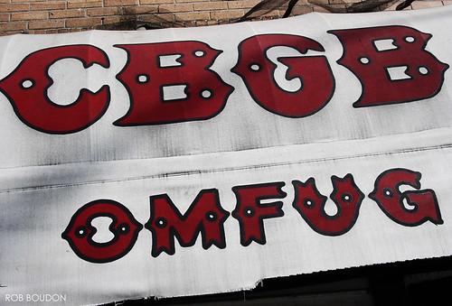 CBGB's Awning