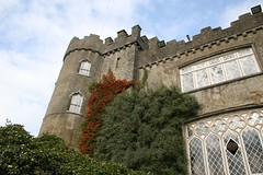 Malahide Castle in Autumn