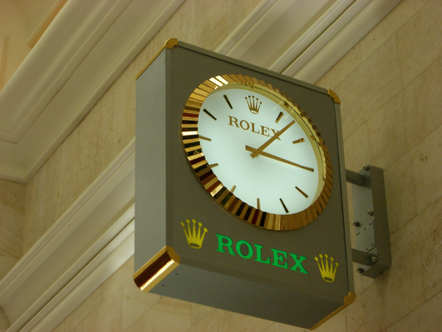 Rolex Wall Clocks Outdoor Rolex Clocks Made By Rolex