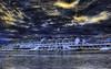 Dark Blue Yellow (worldwidewandering) Tags: usa beach america saturated rocks saveme florida deleteme10 indian united 2006 indianrocksbeach states hdr photomatix worldwidewandering raziks20