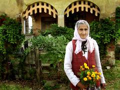 Last Inhabitant (AIeksandra) Tags: portrait people woman rural village folk serbia photojournalism documentary mysterious eastern gypsy magical easterneurope balkan ruralarchitecture oldwalls ethno fairytaleteller