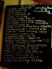 Claypots menu