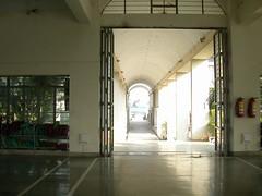 Mahavihara shrine   view to street