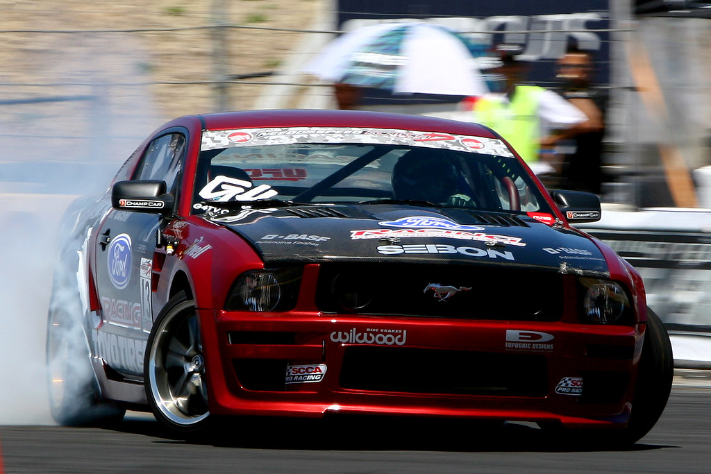 Ken Gushi's Ford Racing Toyo Tire Ford Mustang