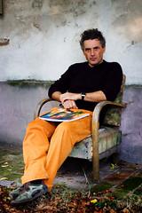 La mia foto dell'anno! Massimo Pulini (Reportergimmi) Tags: portrait paris london art square paint arte painter ritratto massimo cesena pittore pullini