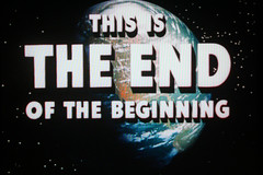 THIS IS THE END OF THE BEGINNING (Dill Pixels) Tags: film movie tv fifties earth space theend beginning hollywood 1950s scifi spacetravel sciencefiction 50s namethatfilm johnlennon named inspace wordswordswords 5000views destinationmoon tomorrowneverknows 7000views endtitle thebeginningoftheend ntf:namedby=hytam2