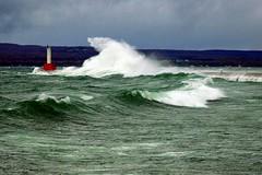 petoskey breakwater (snapstill studio) Tags: michigan lakemichigan breakwater petoskey littletraversebay martinmcreynolds