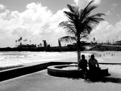Praia de Areia Preta (Anitah) Tags: blackandwhite bw praia beach natal contrast blackwhite pb contraste pretoebranco rn pretobranco areiapreta anitah anages