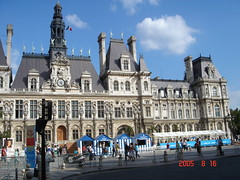 Hotel de Ville Paris City Hall (ggg500) Tags: hoteldeville pariscityhall