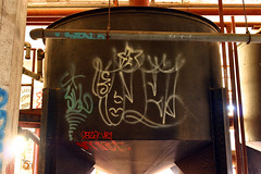 Tie (funkandjazz) Tags: sanfrancisco california graffiti tie barf sibl ceze