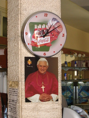 the pope and coca cola