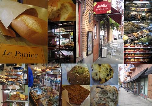The Bread Pt 1: Le Panier, Macrina, Dahlia Bakery