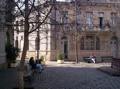 Barrio Concha y Toro (Chorizo andino) Tags: chile plaza santiago libertad prensa
